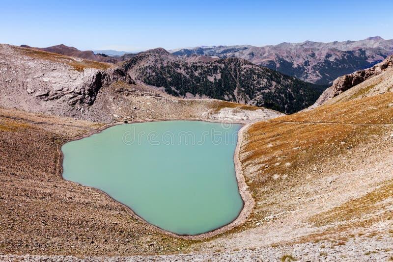 Lago Cayolle Pequeno Foto de archivo libre de regalías