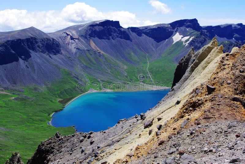 Lago celestial foto de stock royalty free