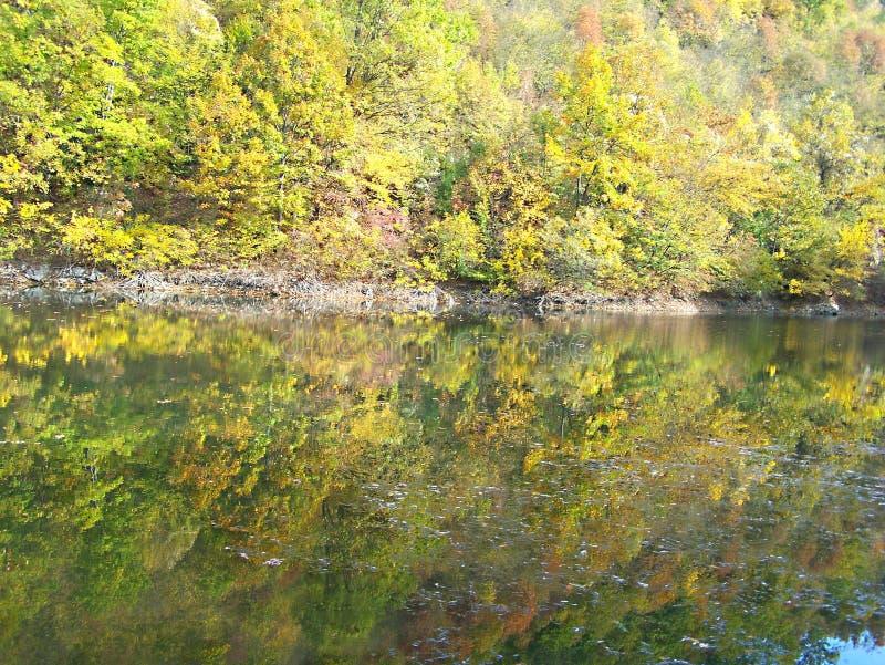 Lago Celije no autmun imagem de stock