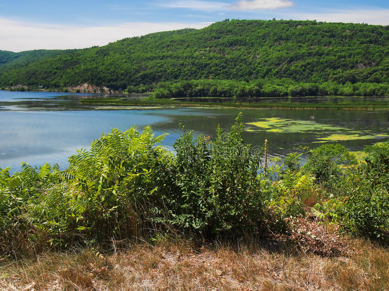 Lago Champlain imagenes de archivo