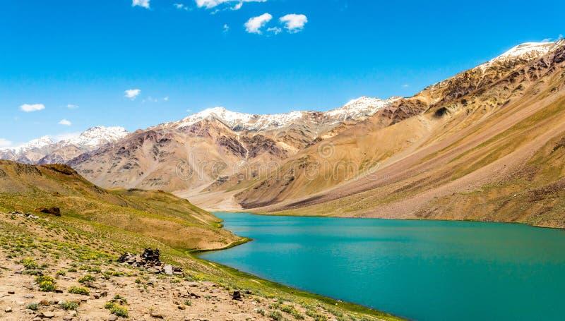 Lago Chandrataal imagen de archivo libre de regalías