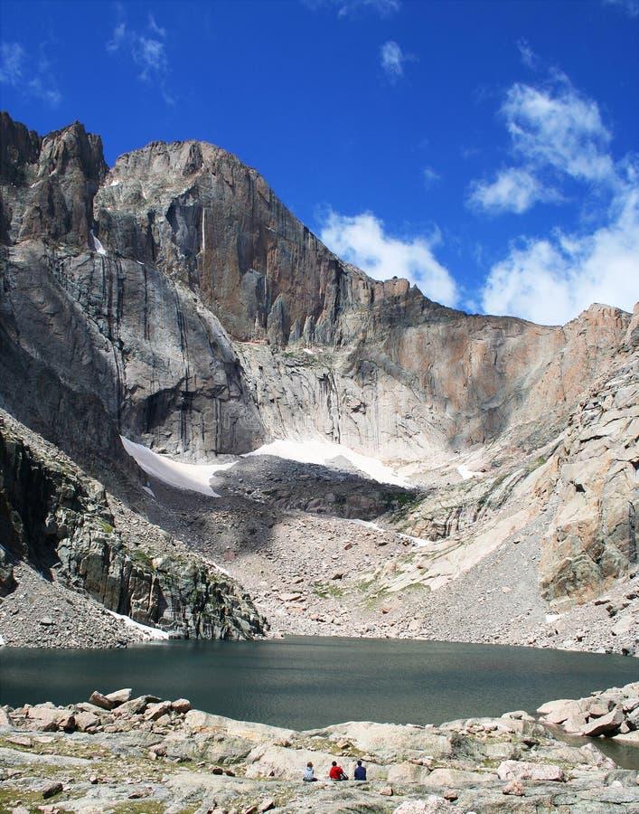 Lago chasm fotografia de stock royalty free