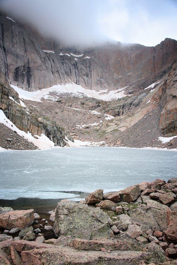 Lago chasm, Rocky Mountains fotos de stock