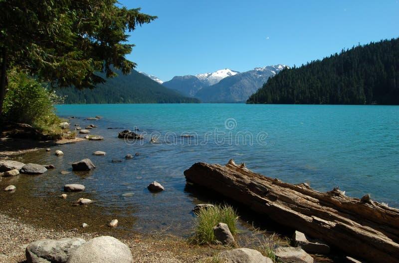 Lago Cheakamus fotos de archivo libres de regalías