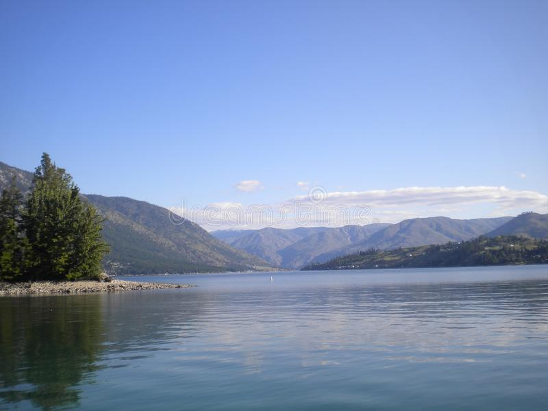 Lago Chelan foto de archivo libre de regalías