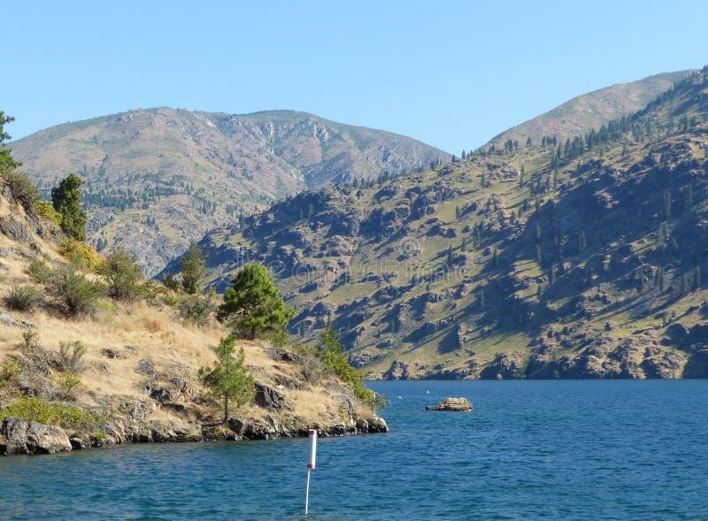 Lago Chelan, WA imágenes de archivo libres de regalías
