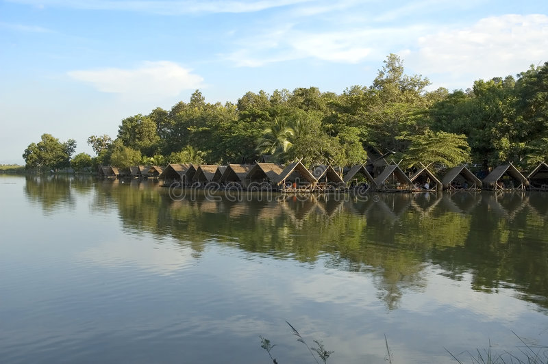 Lago in Chiang Mai fotografie stock