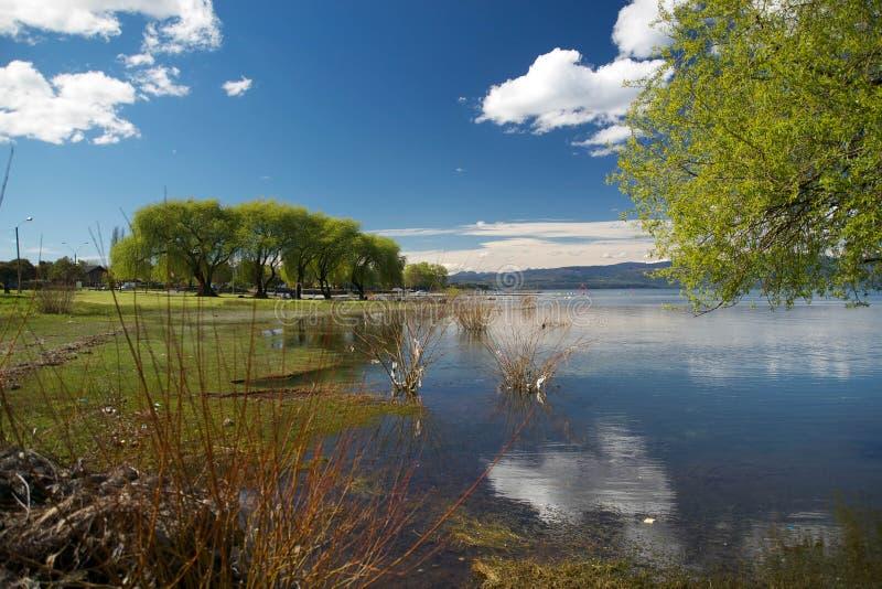 Lago chileno fotografia de stock