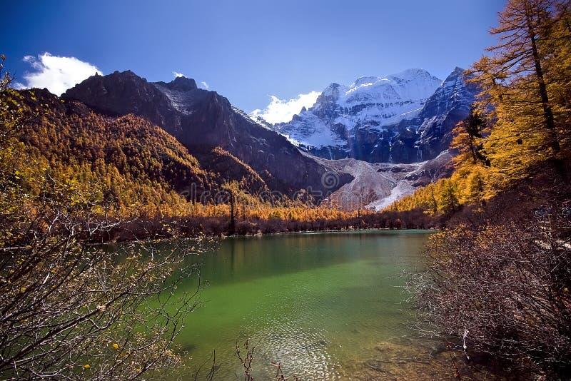 Lago china immagini stock