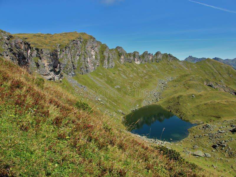 Lago Chuebodensee foto de stock