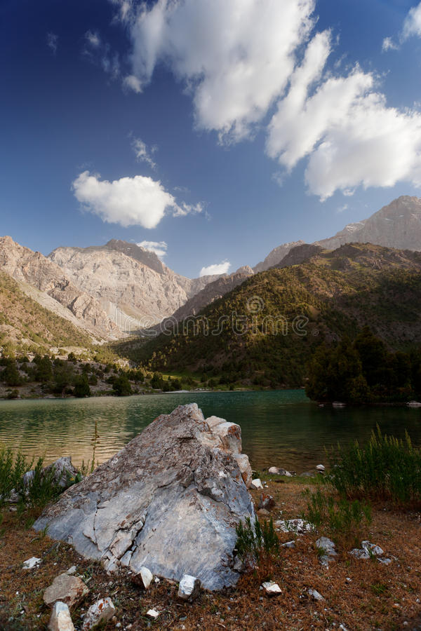 Lago Chukurak fotografie stock libere da diritti