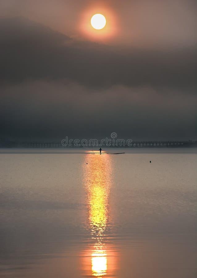 - Lago Cileunca fotografia de stock royalty free
