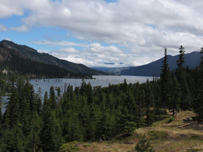 Lago Cle Elum imagen de archivo libre de regalías