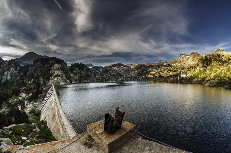 Lago Colomer стоковые изображения rf