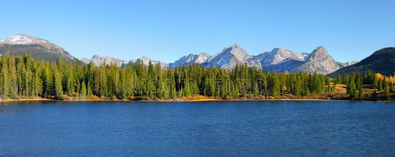 Lago Colorado Molas foto de archivo