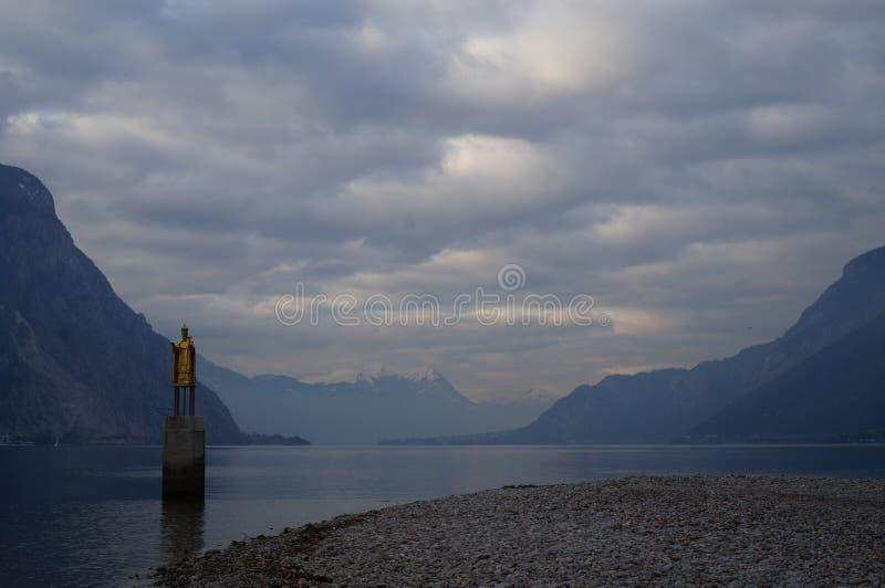 Lago Como fotografia de stock royalty free