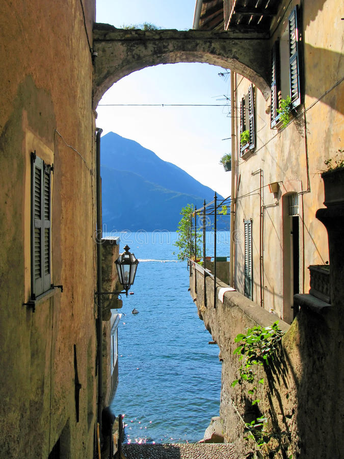 Lago Como immagine stock libera da diritti