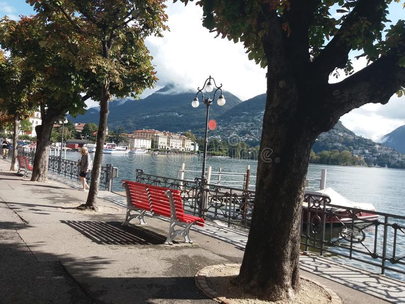 Lago Como fotos de stock royalty free