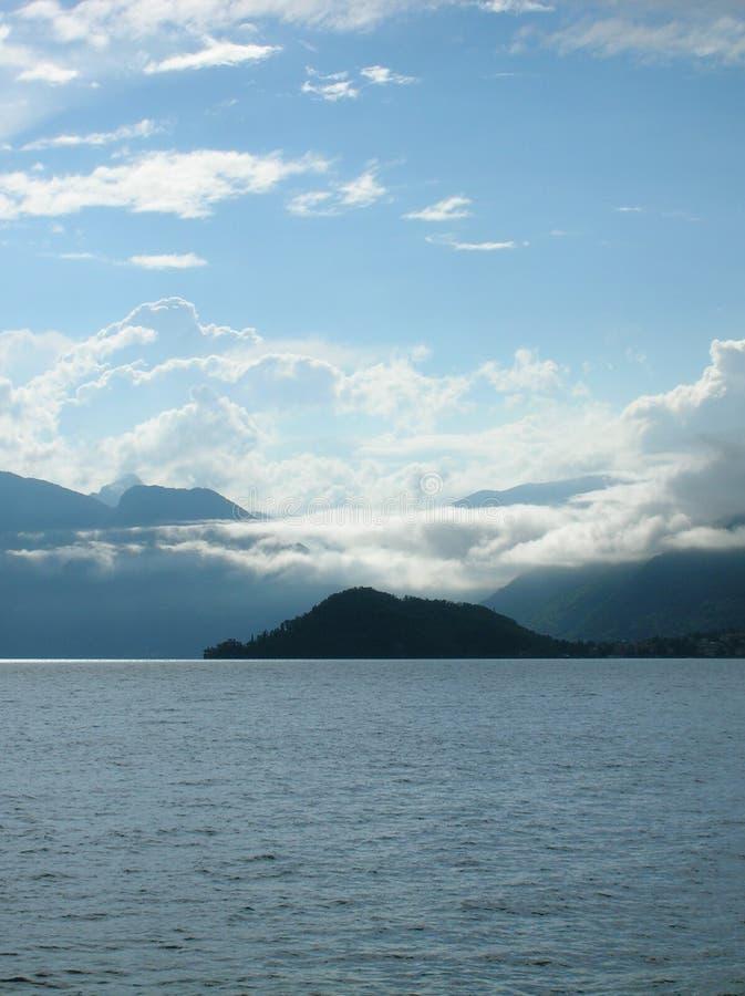 Lago Como. fotografia stock libera da diritti