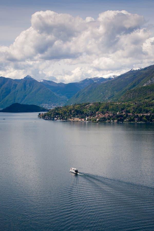 Lago Como fotos de archivo
