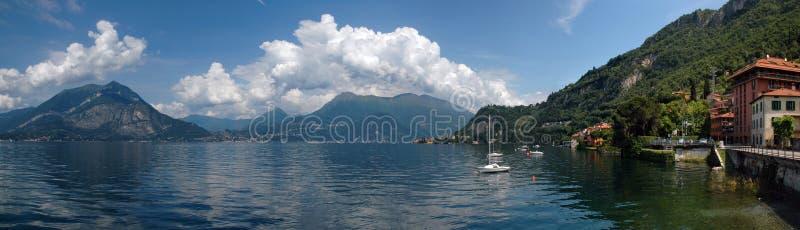 Lago Como foto de archivo