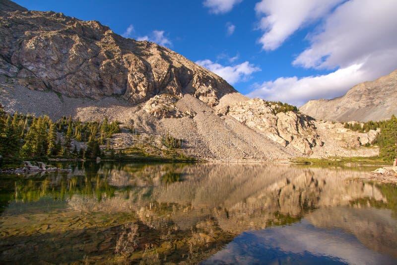 Lago Como en Colorado meridional fotos de archivo libres de regalías