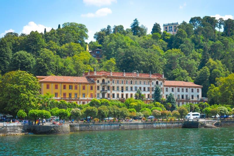 Lago Como en Italia foto de archivo libre de regalías