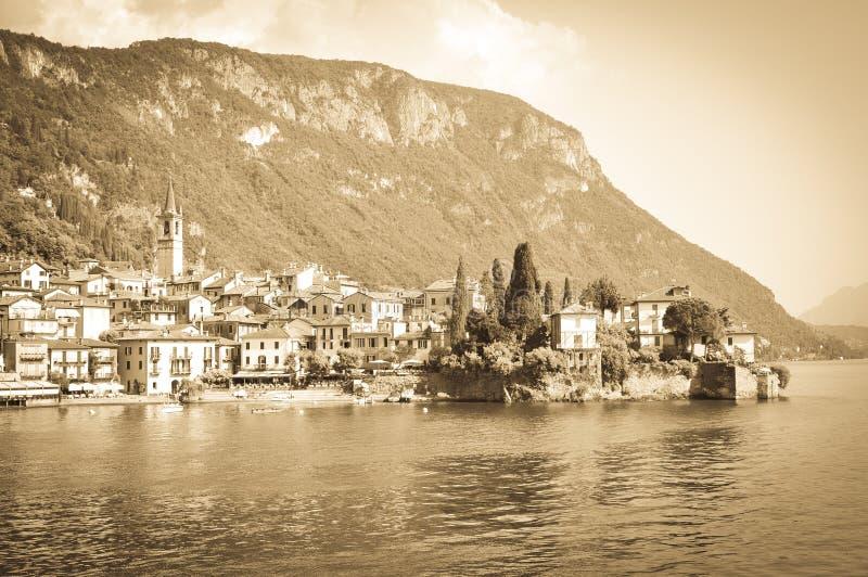 Lago Como en Italia imagenes de archivo