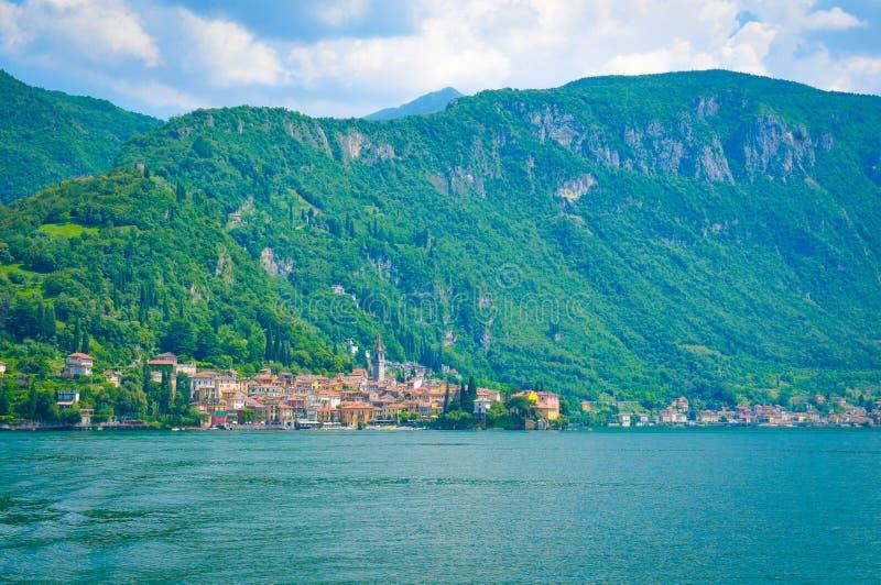 Lago Como en Italia fotos de archivo libres de regalías