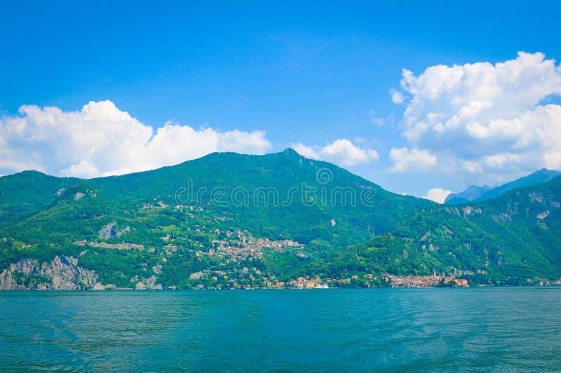 Lago Como en Italia imagen de archivo