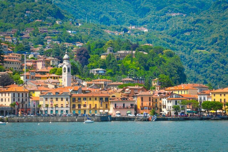 Lago Como en Italia imágenes de archivo libres de regalías