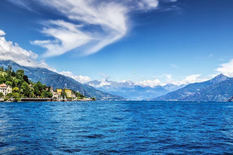 Lago Como, Italia foto de archivo libre de regalías