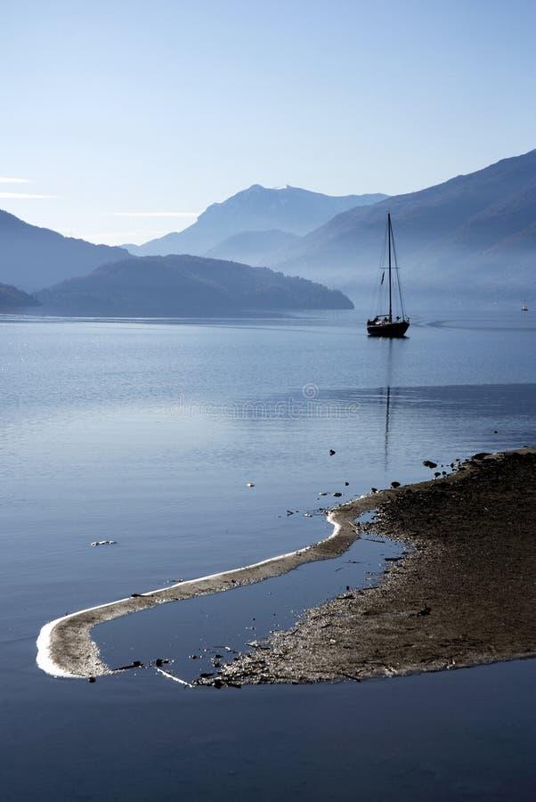 Lago Como - Italia foto de archivo libre de regalías