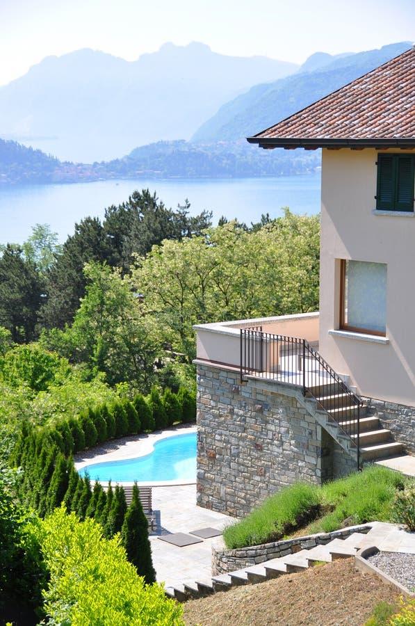 Lago Como, Italia imágenes de archivo libres de regalías