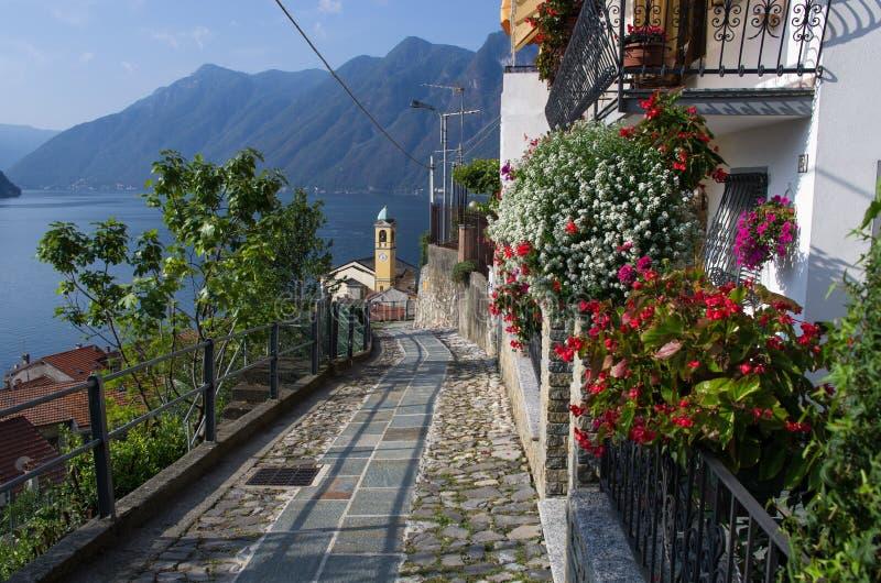 Lago Como - Italia foto de archivo
