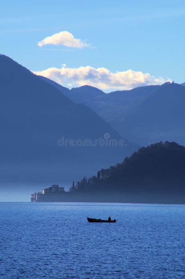 Lago Como Italia fotos de archivo