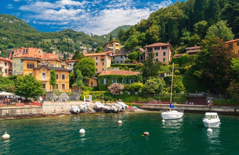 Lago Como Italia fotos de archivo libres de regalías