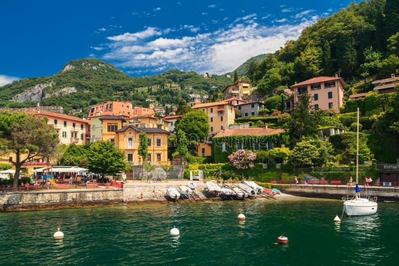 Lago Como Italia imagen de archivo libre de regalías