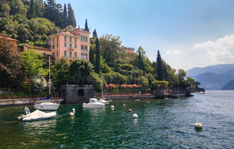 Lago Como Italia imágenes de archivo libres de regalías