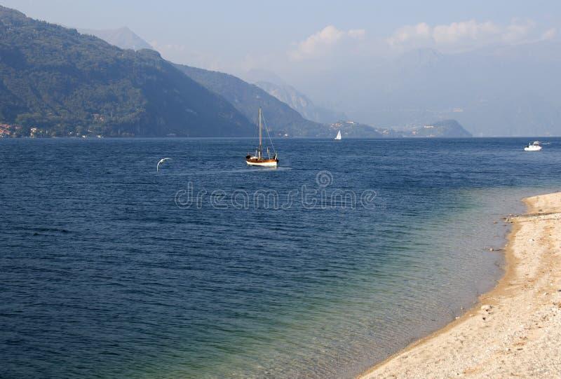 Lago Como - Italia fotos de archivo