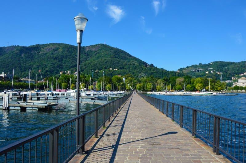 Lago Como, Italia fotos de archivo