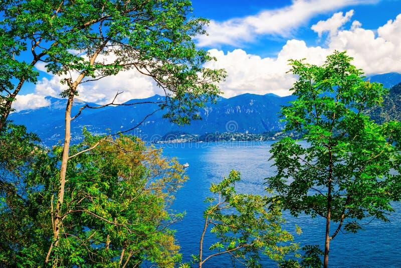 Lago Como, Italia imagen de archivo libre de regalías