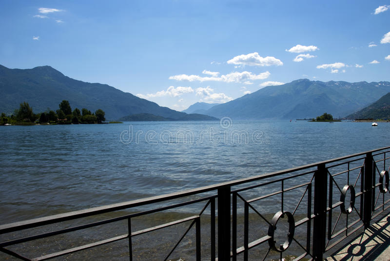 Lago Como - Italia fotografía de archivo