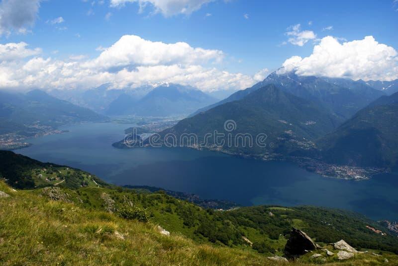 Lago Como - Italia imagen de archivo libre de regalías