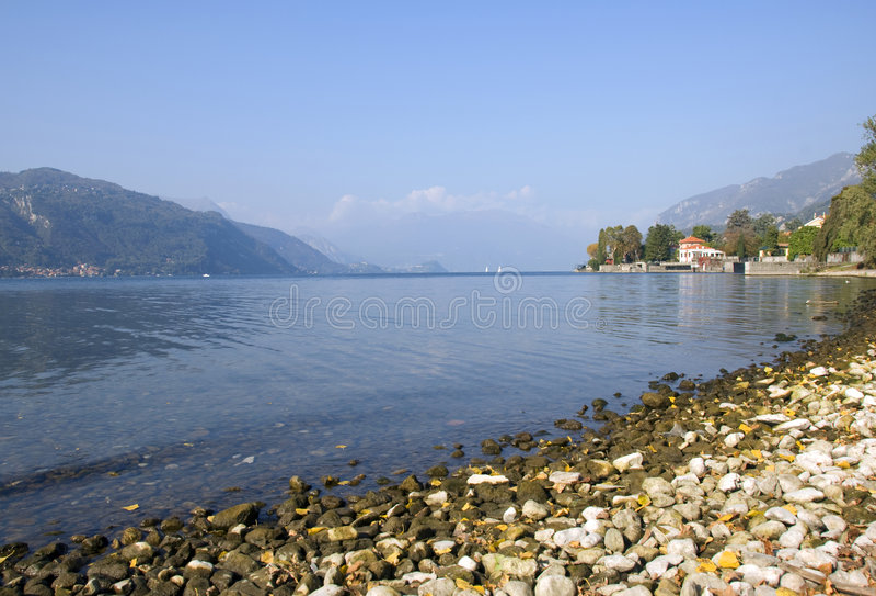Lago Como - Italy imagem de stock royalty free