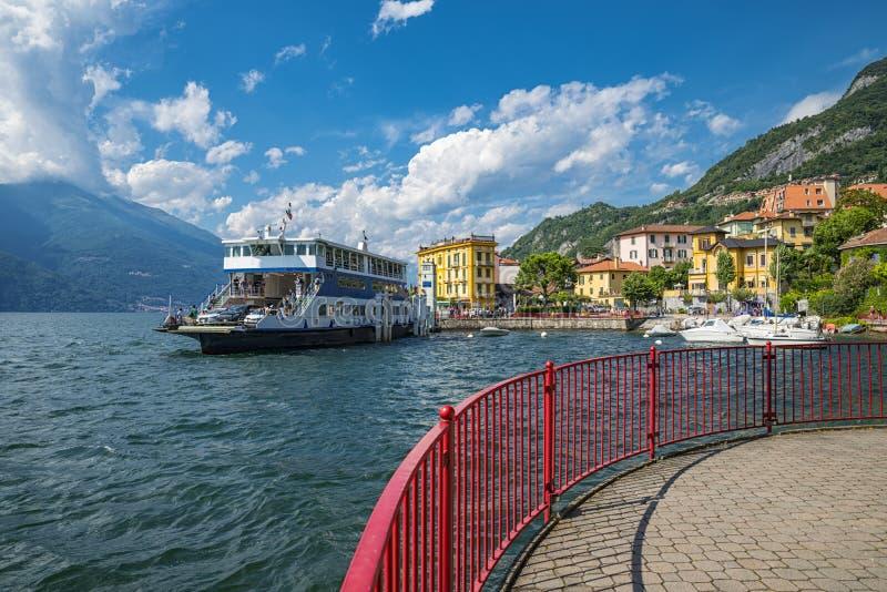 Lago Como Varenna imagem de stock royalty free