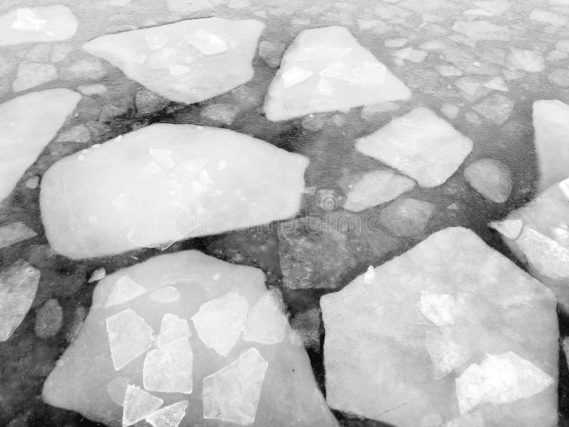 Lago congelado el lago Qinghai fotografía de archivo