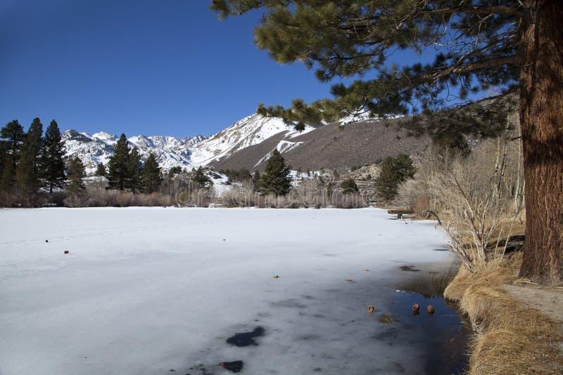 Lago congelado intake II imagen de archivo