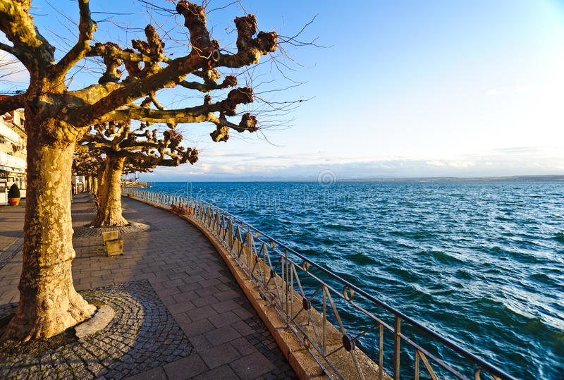 Lago Constance fotografia de stock royalty free