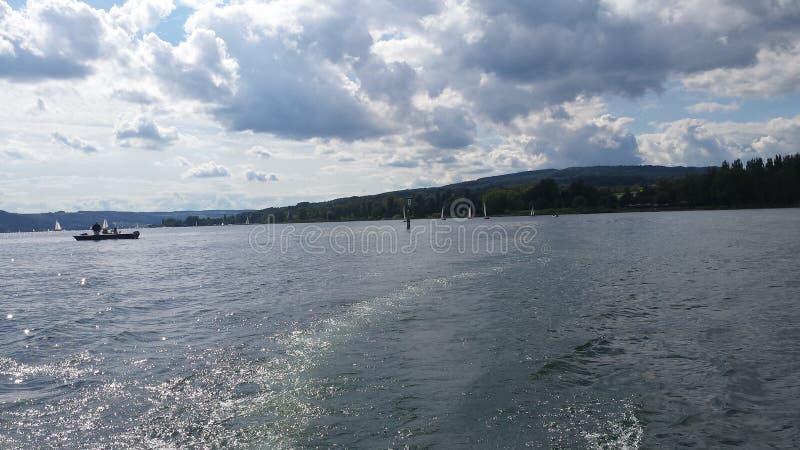 Lago Constance imagens de stock
